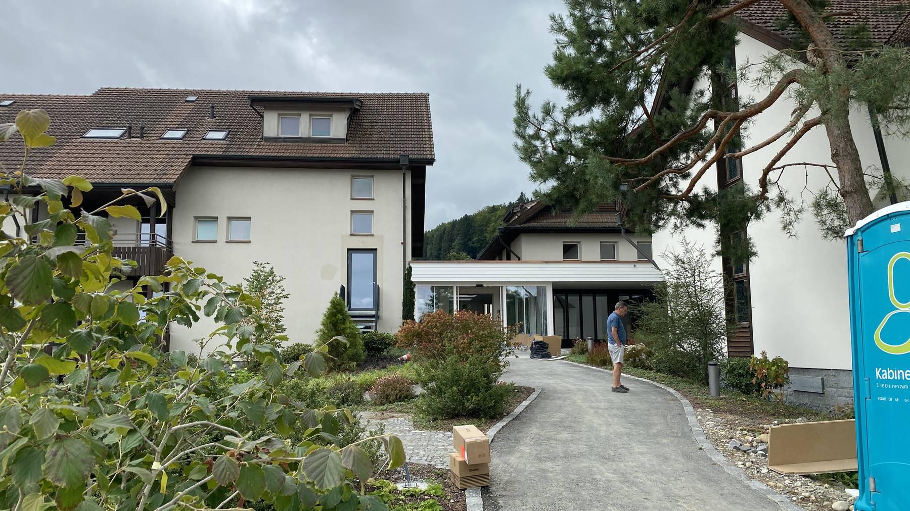 Der Hof Rickenbach ist aktuell noch eine Baustelle.