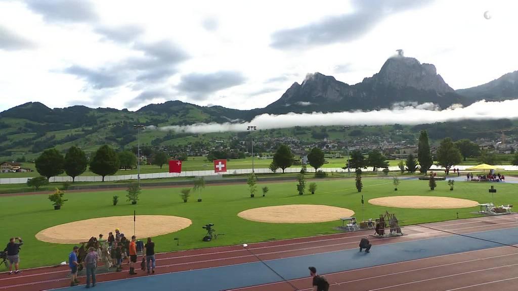 Rigi Schwingen 2021 - 08.15 Uhr - Ausblick Tag