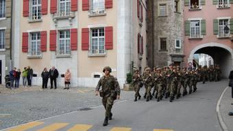 Der Dank der Waffenplatz-Truppen
