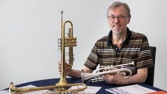 Eugen Busslinger komponiert und pflegt weiterhin das Trompeten- und Cornetspiel
