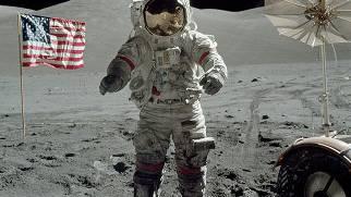Nasa-Sonde fotografiert Spuren auf dem Mond