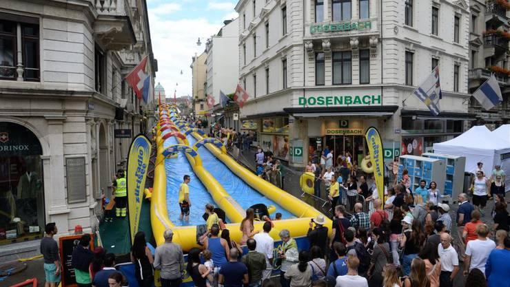 «Slide my City» in der Schweiz
