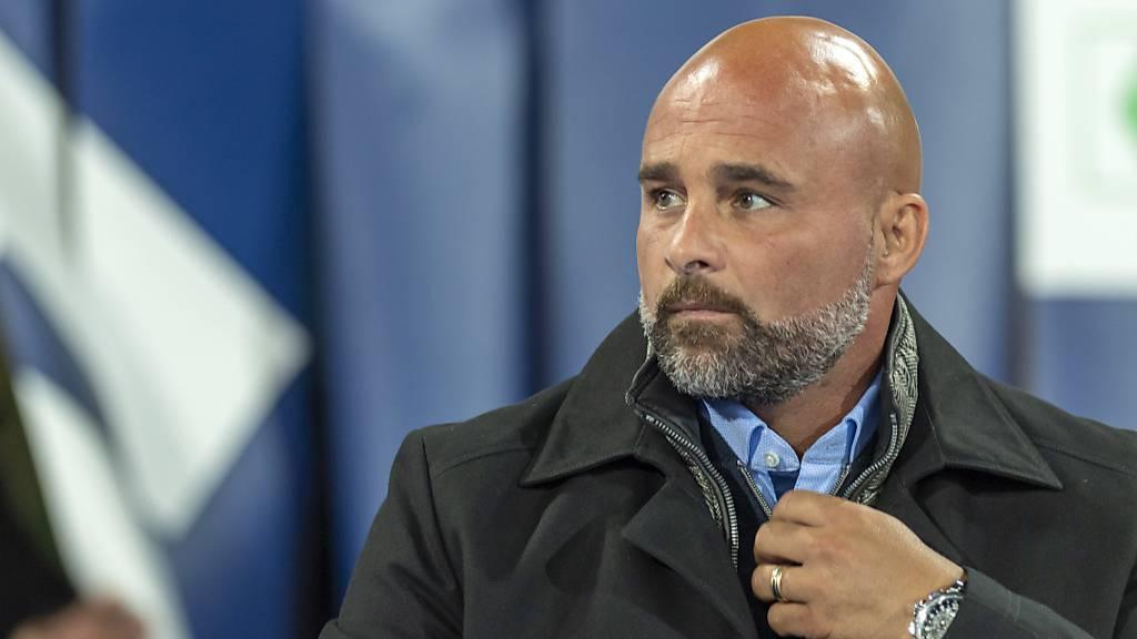 Lausanne-Sport-Trainer Giorgio Contini ist vom Auftritt seiner Mannschaft nicht begeistert. (Archivaufnahme)