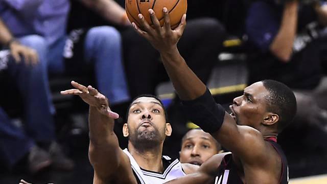 Miami Heat und San Antonio Spurs im Gleichschritt
