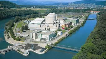 Die zwei Reaktoren in Beznau.