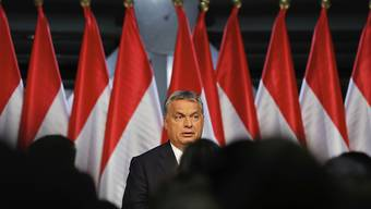 Erwähnte mit keinem Wort, dass dem Referendum die Gültigkeit fehlt: Ungarns Regierungschef Viktor Orban nach der Abstimmung über die EU-Flüchtlingsquoten. Von den Abstimmungsteilnehmern sagten über 98 Prozent Nein zu den EU-Quoten für Flüchtlinge.