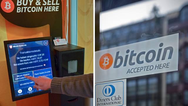 Der erste Basler Bitcoin-Automat steht im Restaurant «Harem».
