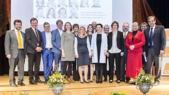 Impressionen vom Nominationsparteitag der Aargauer CVP 2019