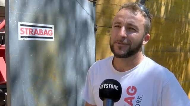 Gefängnisausbruch in Baden: Kranführer Ali Aliu berichtet