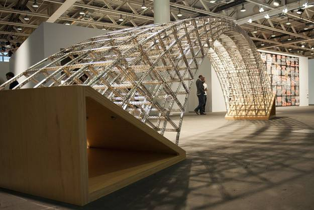 'Curved Bridge' (2003) by Chris Burden represented by the gallery Krinzinger (Vienna)