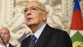 Bietet Berlusconi die Stirn: Präsident Giorgio Napolitano