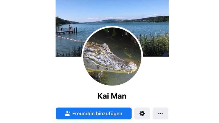 Dem Kaiman wird mit diesem Satire-Account ein Gesicht und eine Persönlichkeit gegeben.