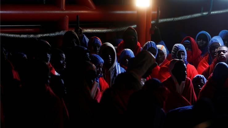 Soll es künftig weniger geben: Migranten, die in Spanien ankommen. Reuters