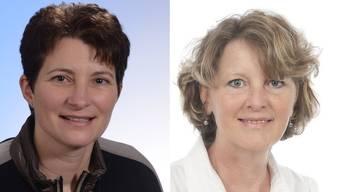 Esther Haldemann Zeltner und Hilda Weibel