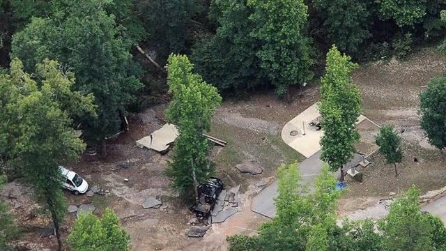 Verheerende Sturzflut wütet auf US-Campingplatz