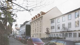 Am Leonhardsgraben 46 nächtigen bald Hotelgäste.Trinkler/Stula/Achille-Architekten