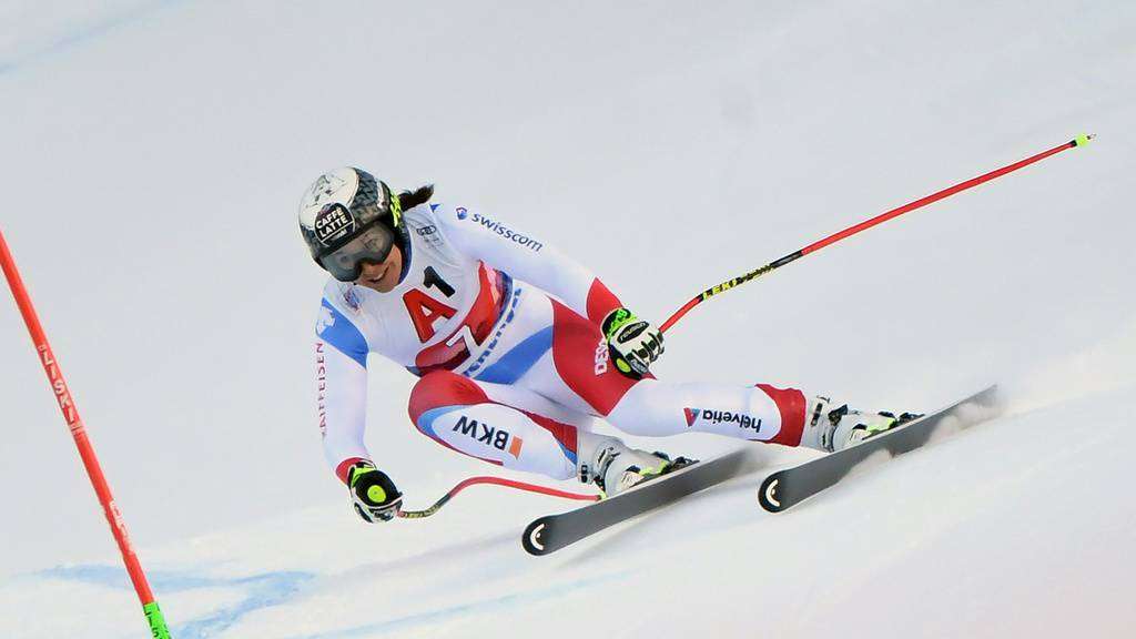 Wendy Holdener bei der alpinen Skikombination in Zauchensee.