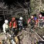 Einsatz der Feuerwehren Erlinsbach, Aarau und Küttigen am 11. April.