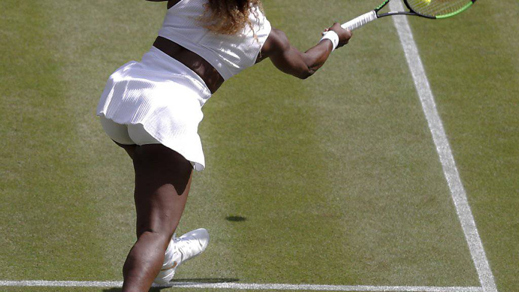 Serena Williams greift nach dem 24. Grand-Slam-Titel