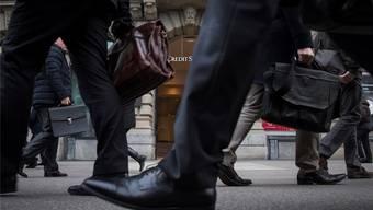 Der Schweizer Finanzplatz weist laut einer neuen Studie ein hohes Geldwäscherisiko auf.Ennio Leanza/Keystone