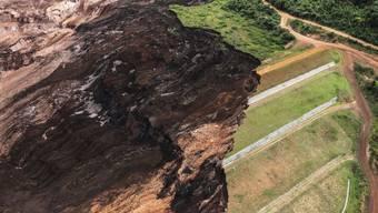 Ein Dammbruch an einer Eisenerzmine nahe Brumadinho in Brasilien Ende Januar kostete bis zu 300 Menschen das Leben und richtete schwere Schäden an der Umwelt an. (Archivbild)
