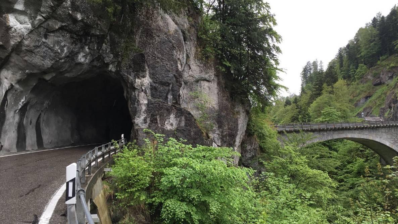 Chlusstaldentunnel mit Chlusbodenbrücke