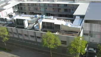 Das Bundesasylzentrum auf dem Duttweilerareal in Zürich-West ist fertig.