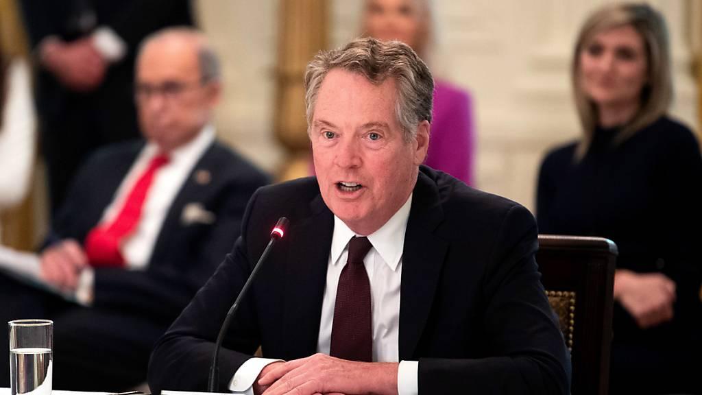 USA beschliessen Zölle gegen Frankreich wegen Digitalsteuer