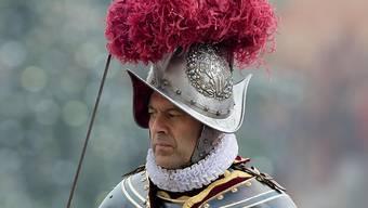 Den Papst zu bewachen stellt ihn manchmal vor Herausforderungen: Christoph Graf. (Archivbild)