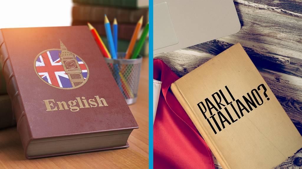Englisch oder Italienisch?
