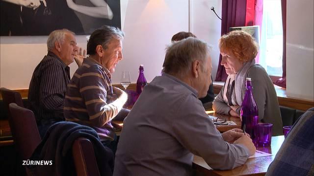 Heisser Mittags-Flirt für  Rentner