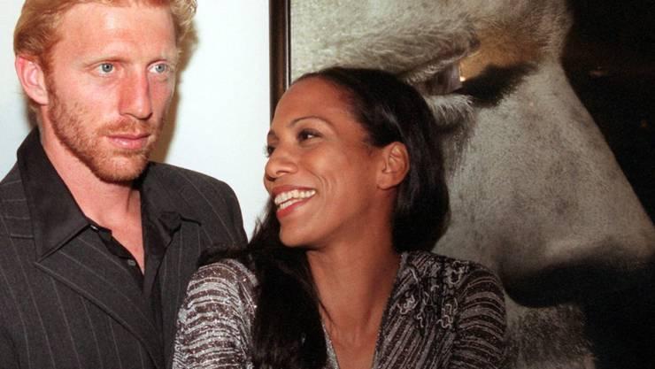 Seit 2000 sind der einstige Tennis-Star Boris Becker und seine Frau Barbara Becker getrennt. Jetzt spricht sie erstmals über ihr Verhältnis zum heute 25-jährigen Sohn Noah, den sie alleine aufgezogen hat. (Archivbild)