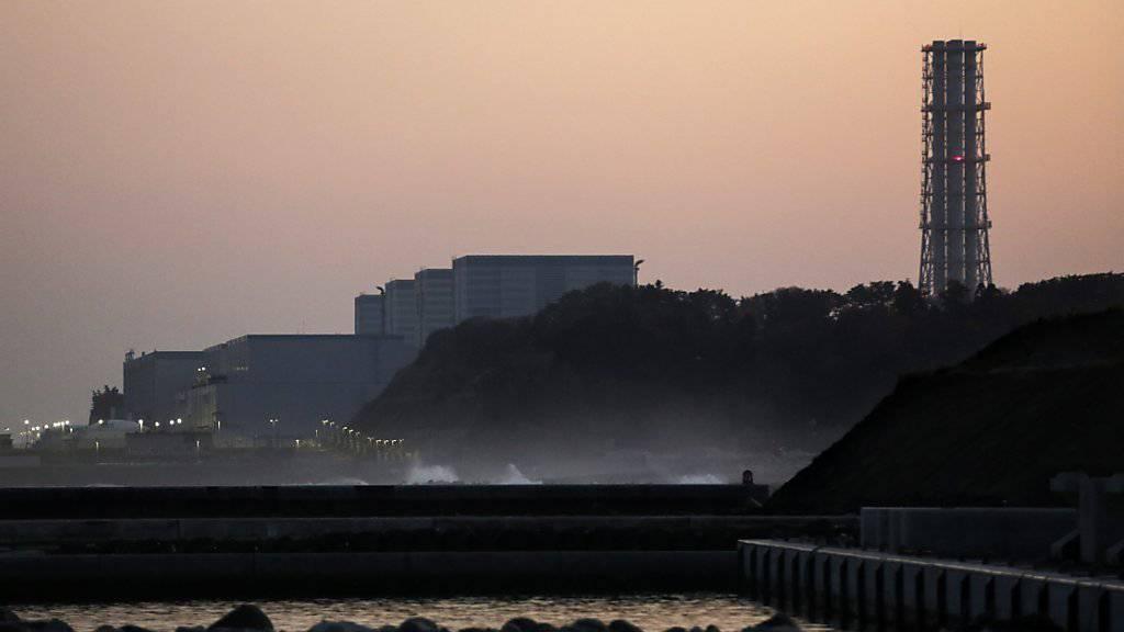Das Atomkraftwerk Fukushima Daini der Tokyo Electric Power Company (Tepco) in Naraha am Dienstag.