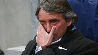 Rückschlag für Manchester City mit Coach Roberto Mancini