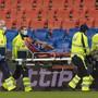 Im Spiel gegen YB musste Linksverteidiger Jorge nach einer Stunde verletzt vom Platz getragen werden.