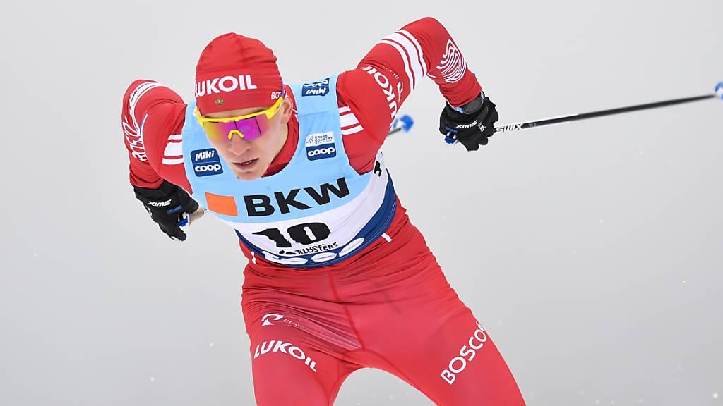 Alexander Bolschunow baut Weltcup-Führung aus