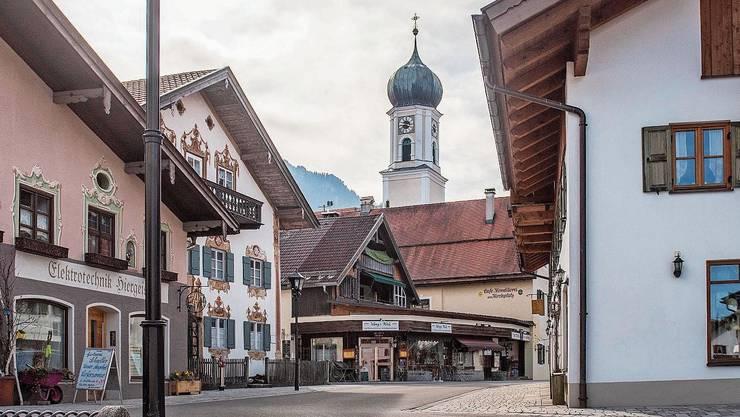 1633 soll in Oberammergau ein Wunder geschehen sein.
