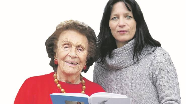 Elisabeth Pfluger und Claudia Brander