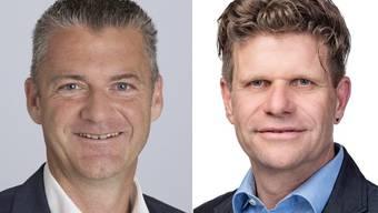 Roland Michel und Martin Egloff