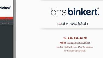 Der Onlineshop «Techniworld.ch» der BHS Binkert Schweiz GmbH hat viele Kunden enttäuscht.