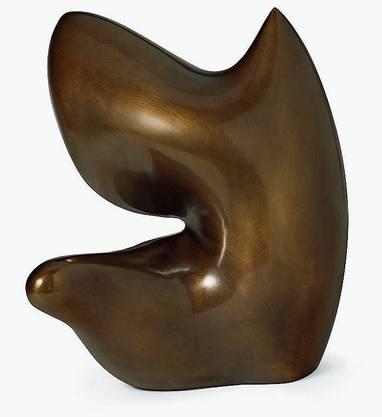 Auf der Liste von Highlights aus Museumsverkäufen bei Christie's. «Fruit préadamite» von Hans Arp. Das Werk brachte dem Israel Museum in Jerusalem 131 250 Dollar.