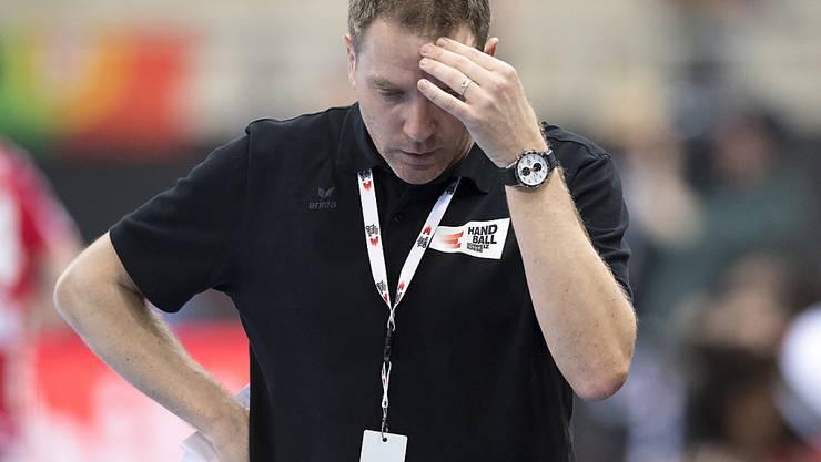 Die von Michael Suter trainierte Schweizer Auswahl unterlag Portugal in der EM-Qualifikation auch auswärts