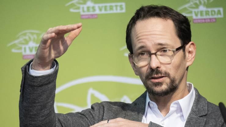 Die Grünen um Präsident Balthasar Glättli haben letzte Woche einen Klimaplan vorgestellt.