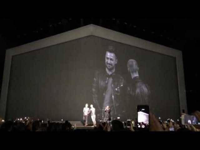 Während Adeles Konzert im Hallenstadion: Kory Kalnasy macht seinem Freund einen Heiratsantrag