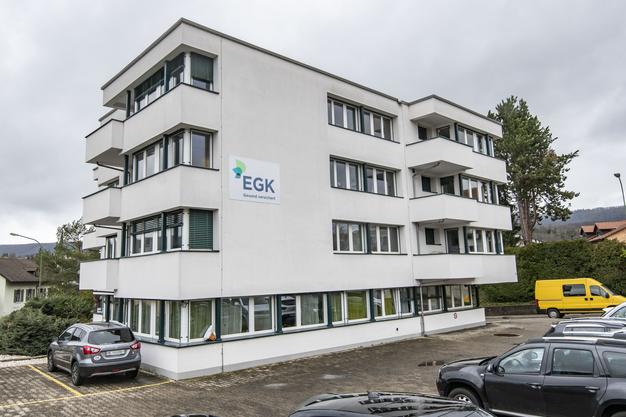 Seit 1969 befindet sich die EGK hier an der Brislachstrasse. Bald zieht man in den neuen Hauptsitz um.