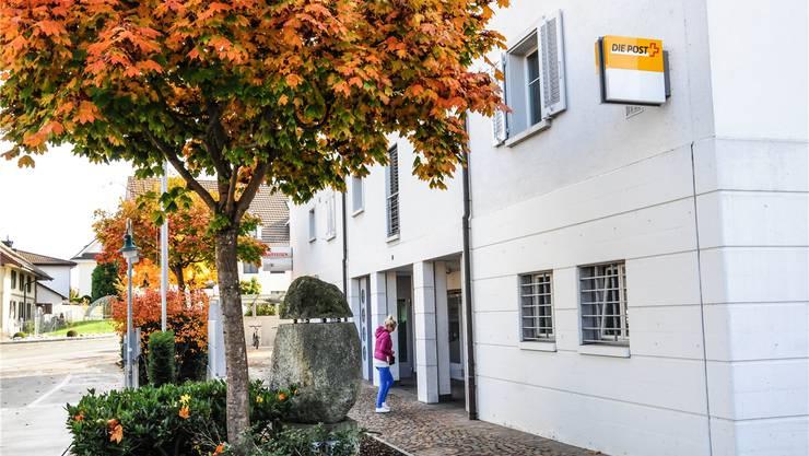 Die Poststelle in Niederwil soll im Frühling 2017 geschlossen werden. archiv/az