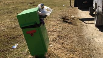 Gerade im Waldgebiet hat das Littering stark zugenommen. Abfälle werden dort entsorgt, wo es den Besucherinnen und Besuchern gerade in den Kram passt.