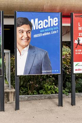 Mundart soll Erfolg bringen: Der abgewählte FDP-Landrat Christoph Buser im Nationalratskampf.