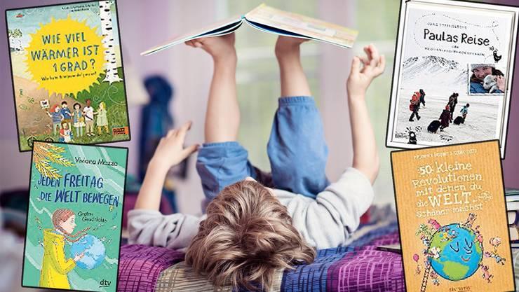 Für den Schülerstreik zu jung, nicht aber fürs Kinderbuch über den Klimawandel: Vier Bücher zeigen den Erwachsenen von morgen auf, was sie tun könnten.