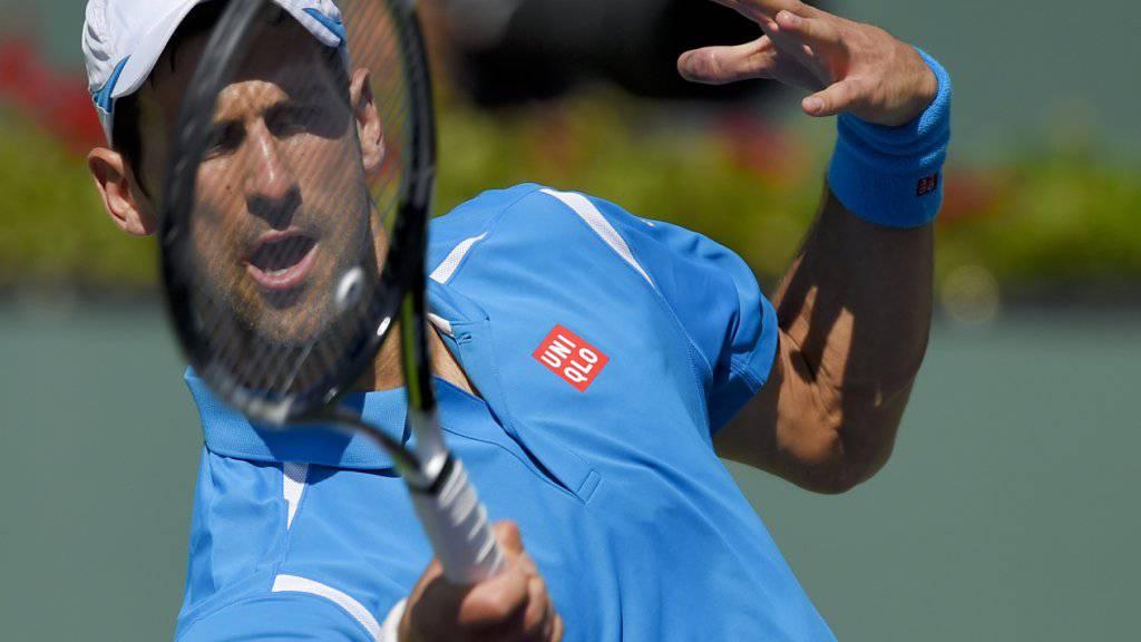 Novak Djokovic zeigt bisweilen Mirakulöses